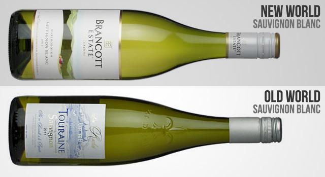 new world sauvignon blanc Brancott old world sauvignon blanc Touraine