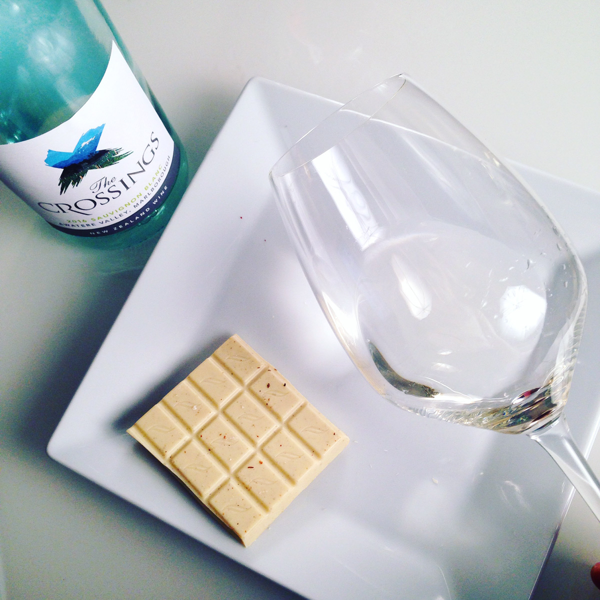 White Chocolate and New Zealand Sauvignon Blanc Pairing