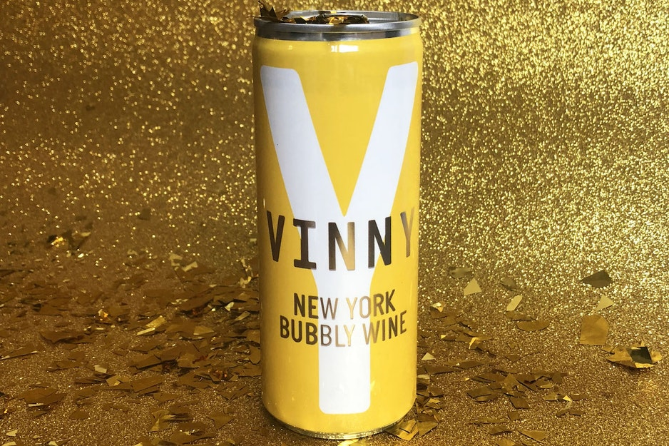 Vinny Canned Wine Blanc.