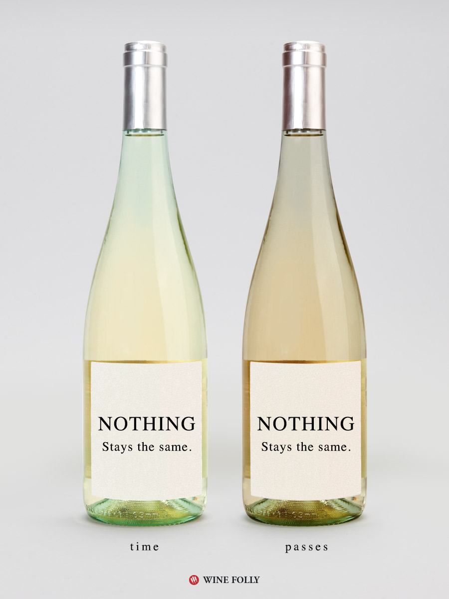 Nothing Stays the Same Quote Poster Child Wine