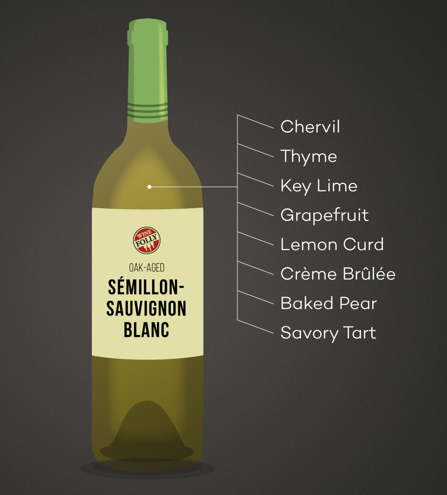 Oak Aged Semillon Sauvignon Blanc Tasting Notes