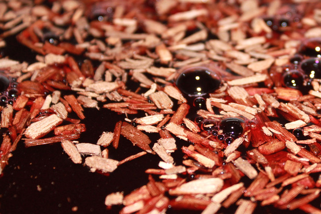 Oak Chips in Wine by stephen_bolen