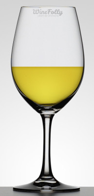 Oaked Buttery Chardonnay in a Glass