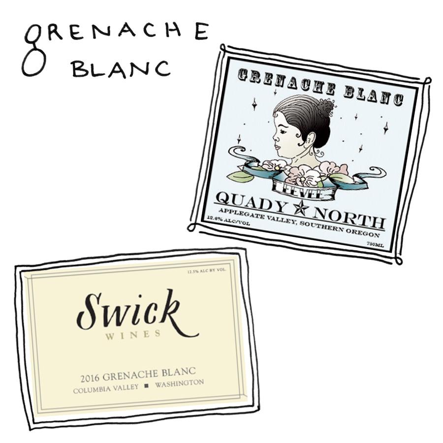 Oregon Grenache Blanc Wines