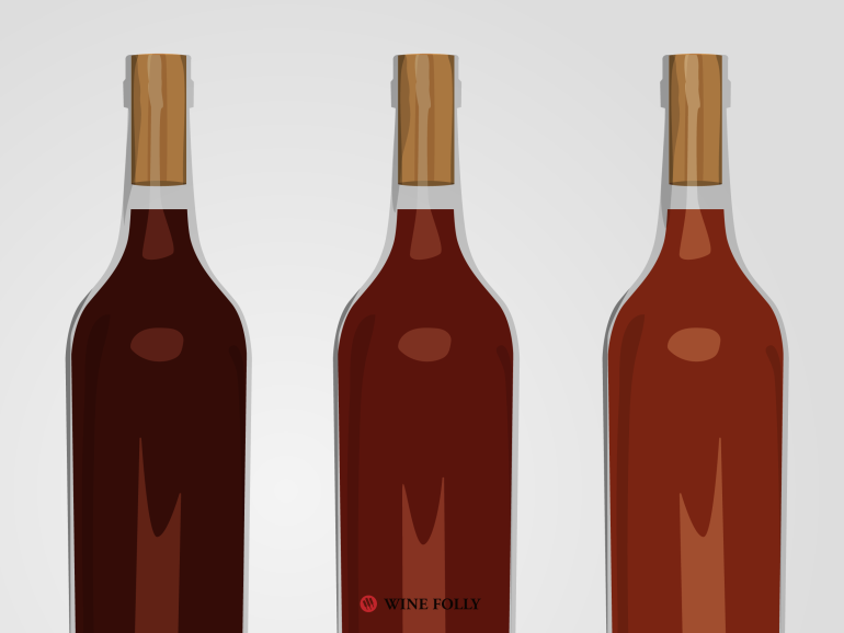 how red wine ages and becomes oxidized