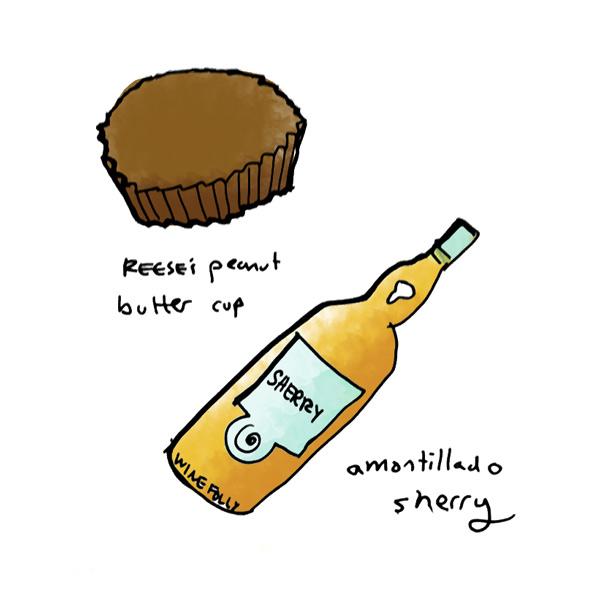 peanut-buttercup-amontillado-sherry-wine-pairing