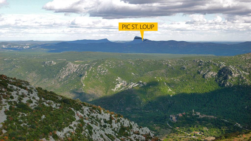 Pic Sant Loup Languedoc Roussillon