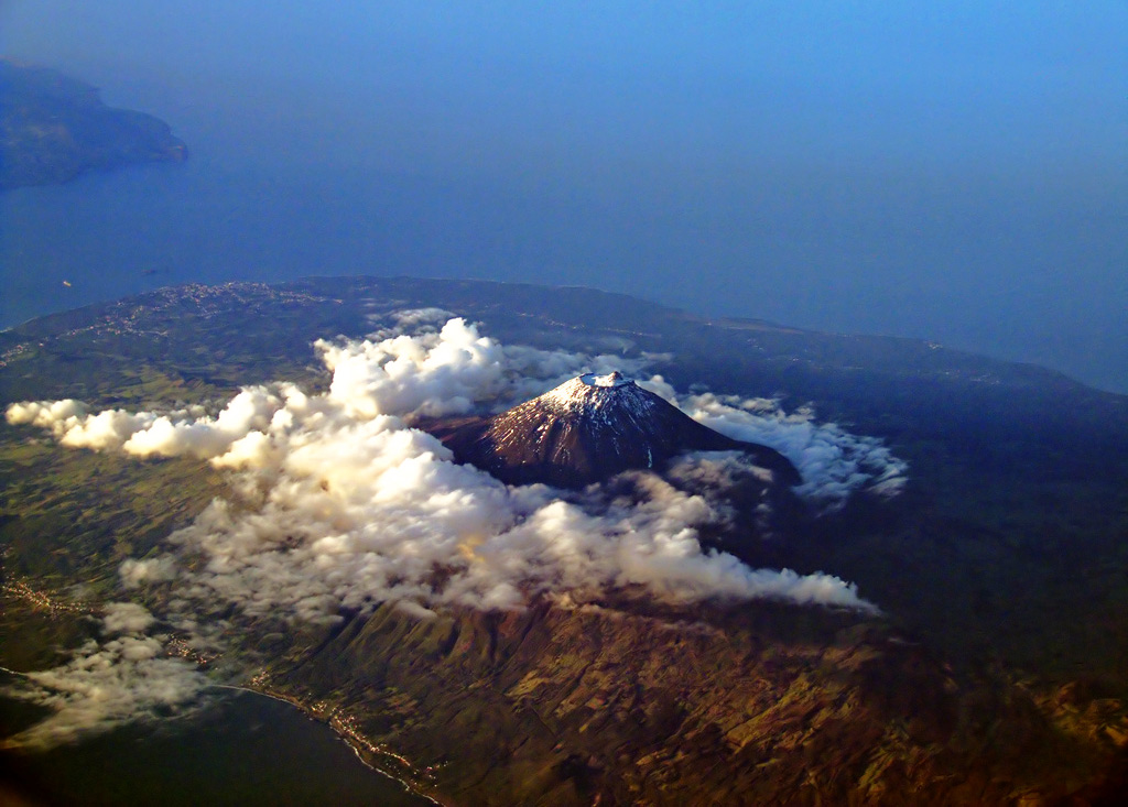 pico island portugal aerial picture by andresrueda