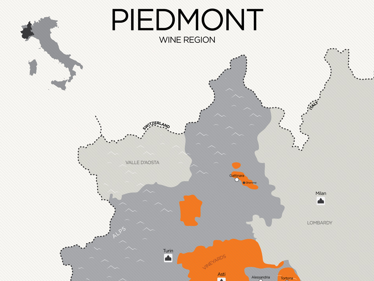Essential Guide To Piedmont Wine With Maps Wine Folly