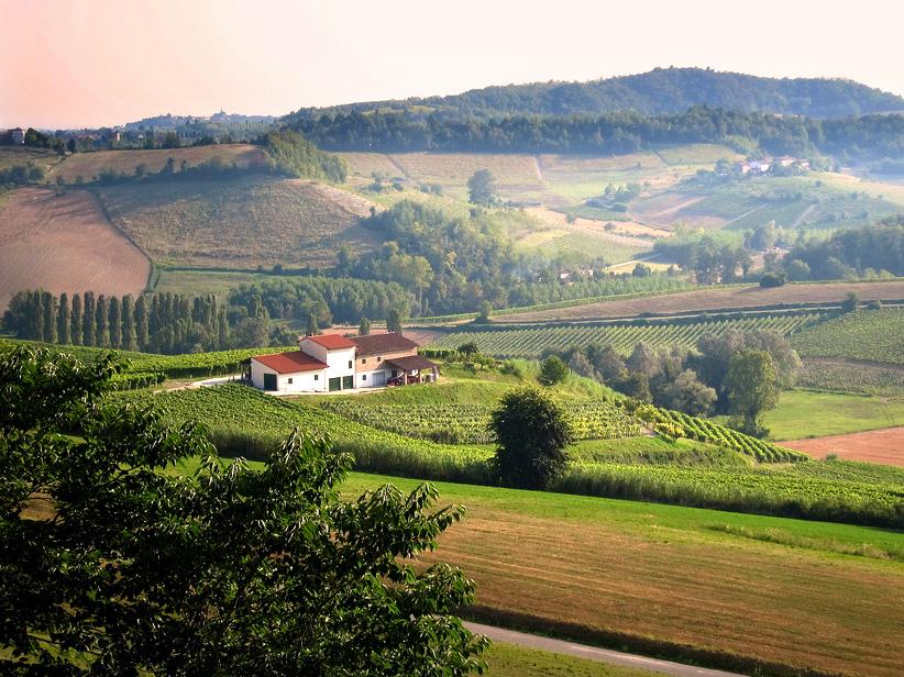 Monferrato Northern Italy Wine Country Piedmont
