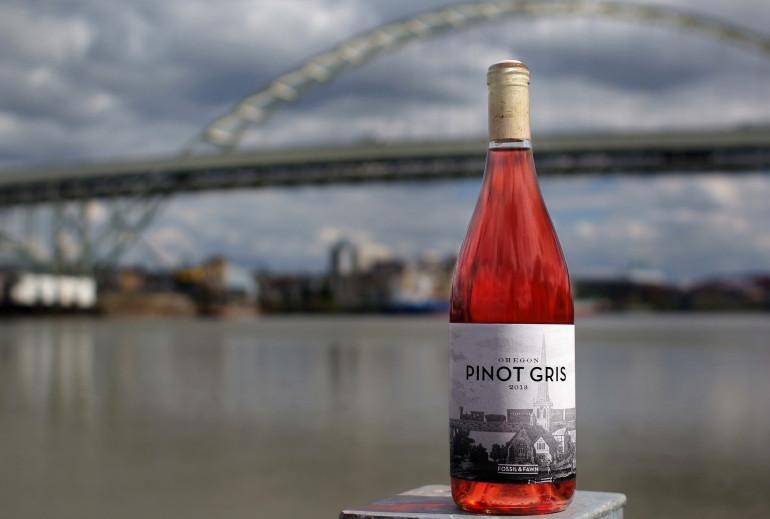 Oregon Pinot Gris Rose ramato