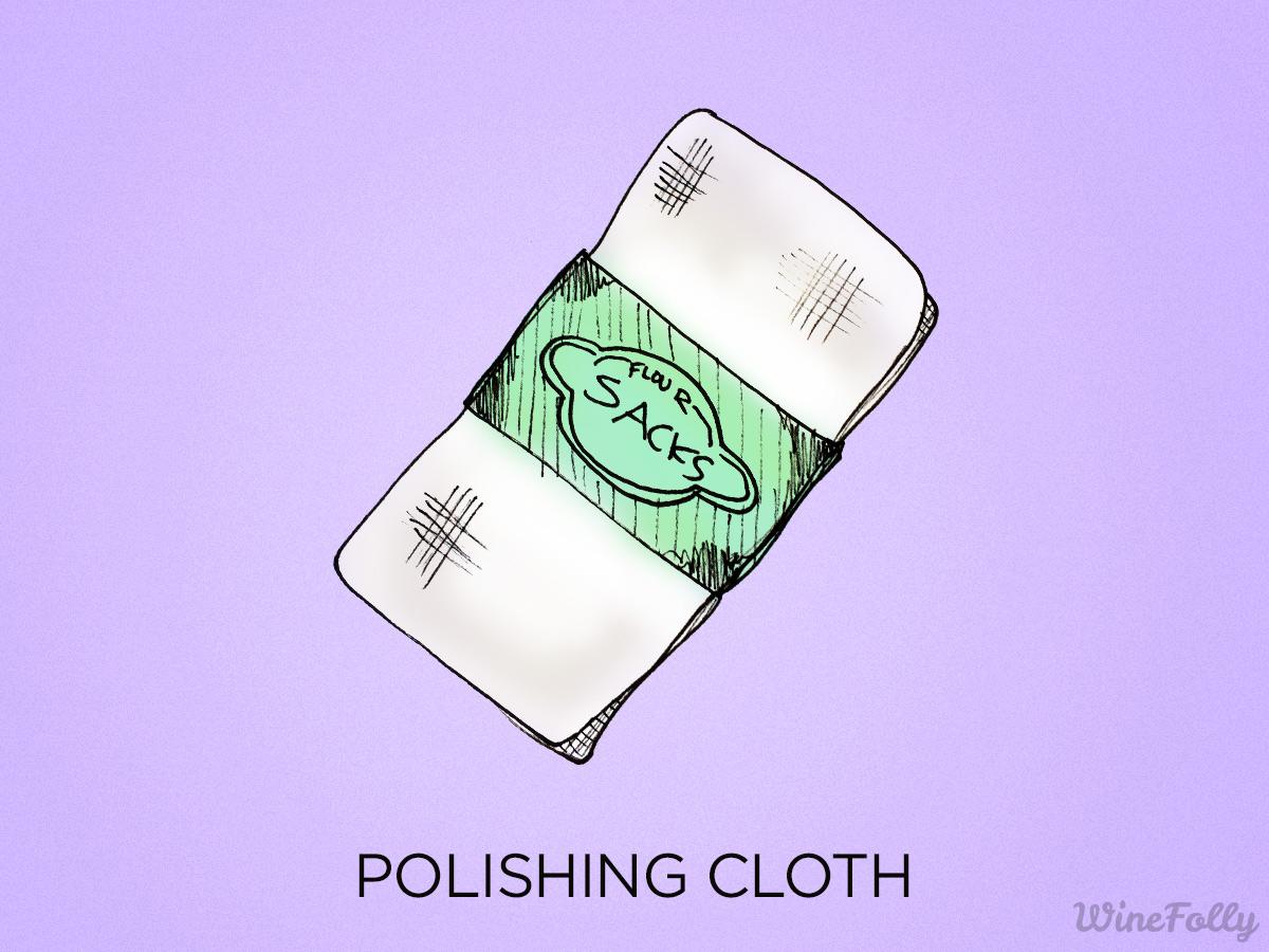 polishing-cloth-wine-glass-illustration