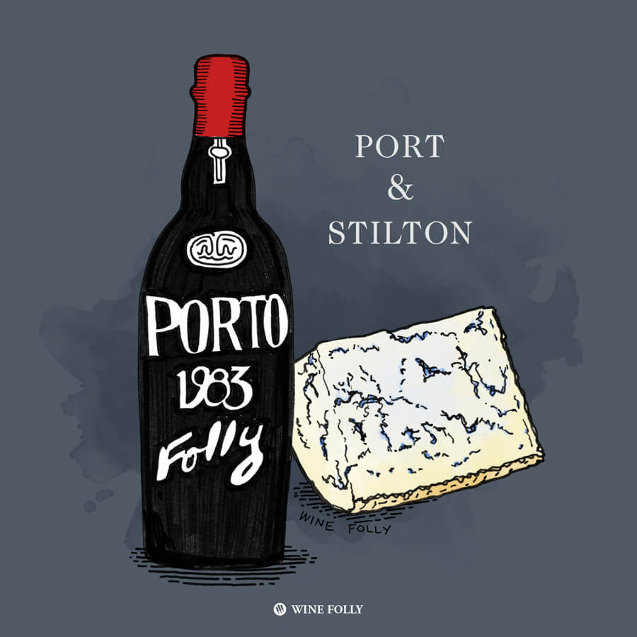 port-stilton-cheese-pairing-illustration