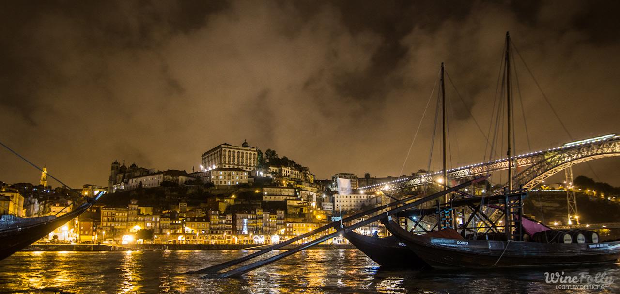 Porto Douro City at Night. photo by Justin Hammack