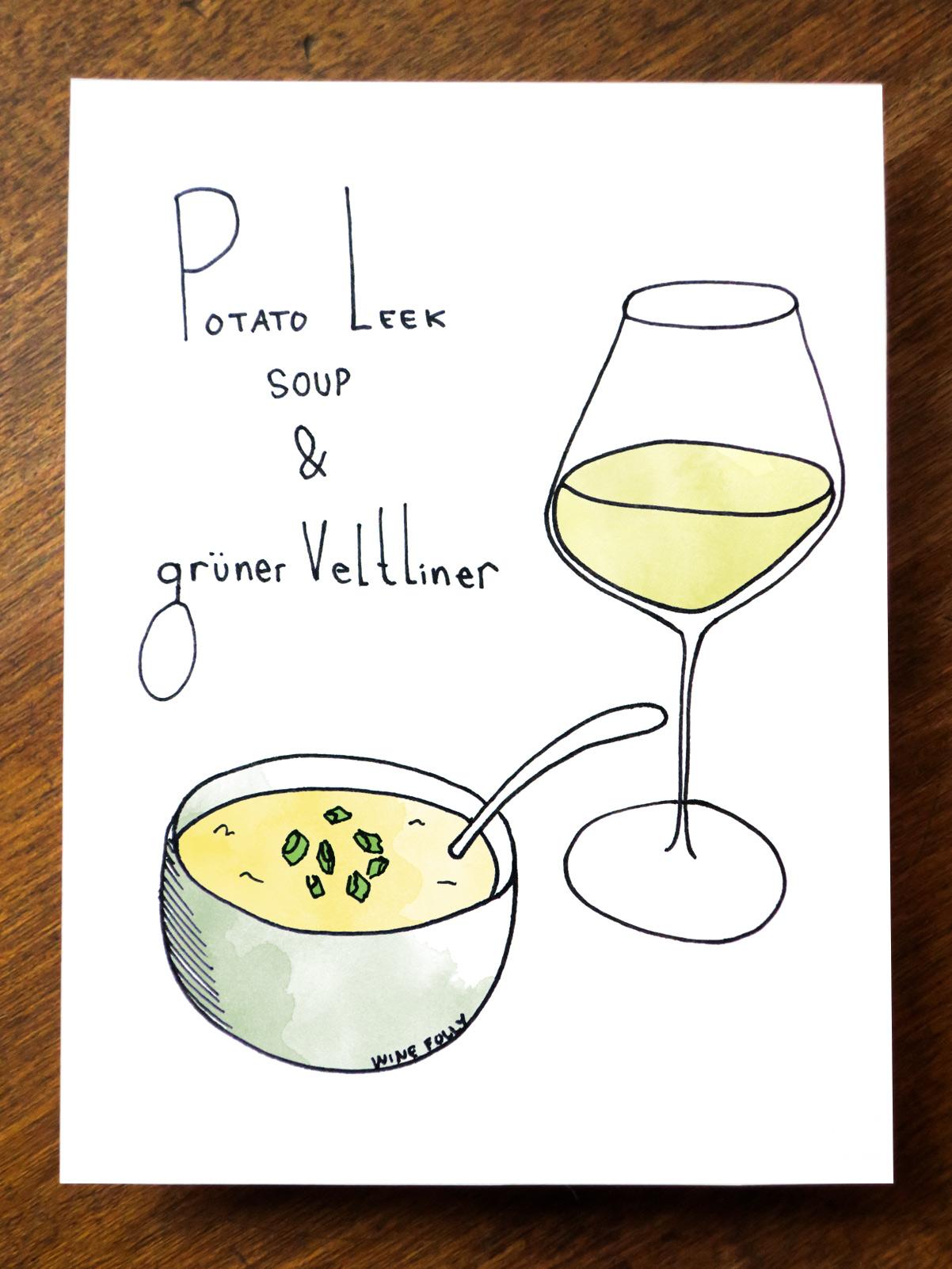 potato-leek-soup-wine-pairing-gruner-veltliner