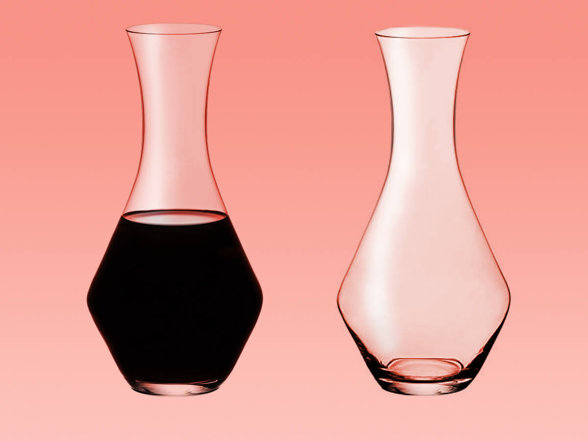 Machine-made riedel crystal decanter for pros - gifts for wine lovers