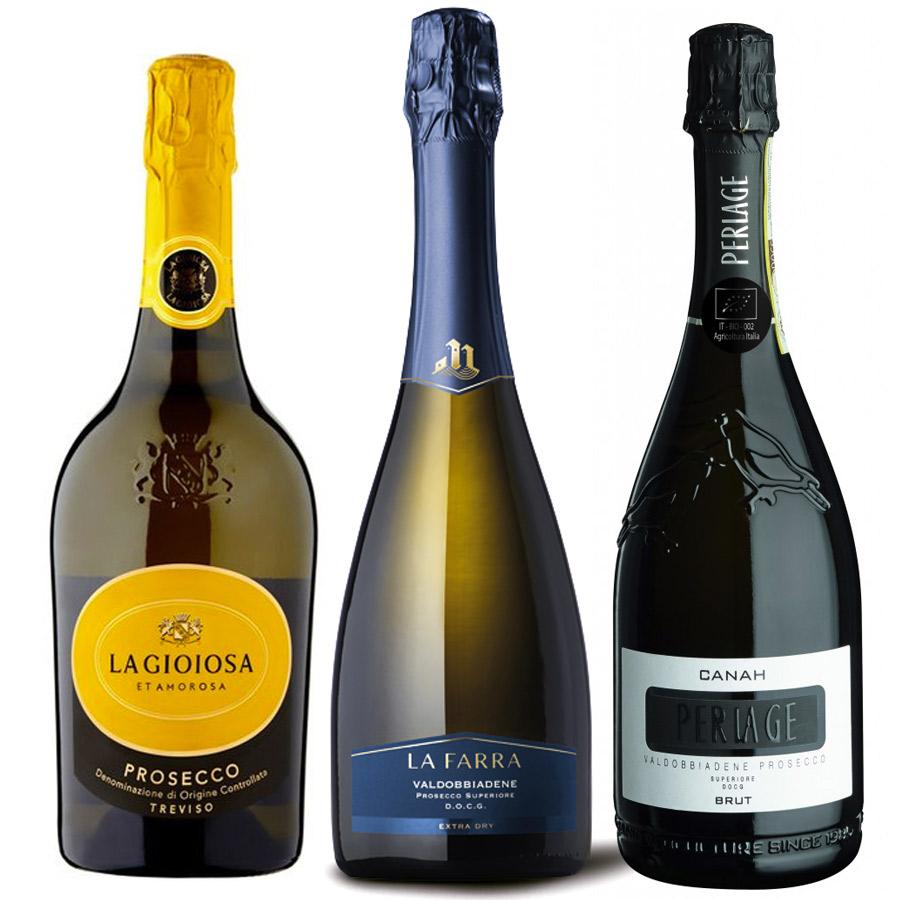 Some Prosecco Wine brands