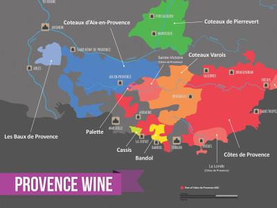 Provence Wine Regions Excerpt