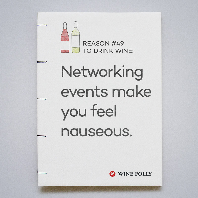 Networking events make you feel nauseous