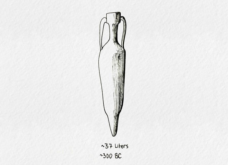 roman-amphora-37-liter-design-300bc