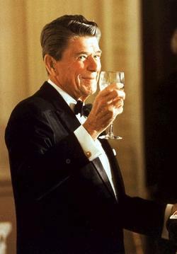 Ronald Reagan and Chardonnay Wine