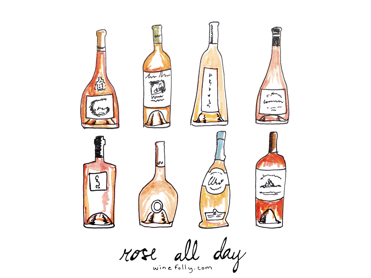Rosé All Day by Wine Folly