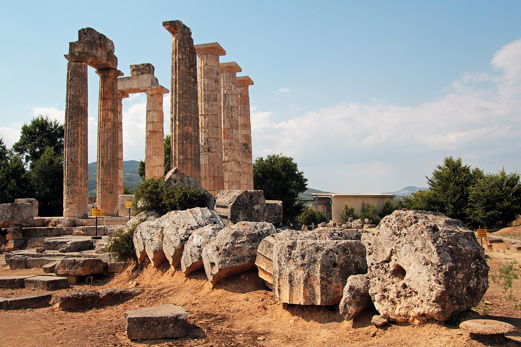 The ruins at Nemea in Peloponnese, Greece. By Edoardo Forneris