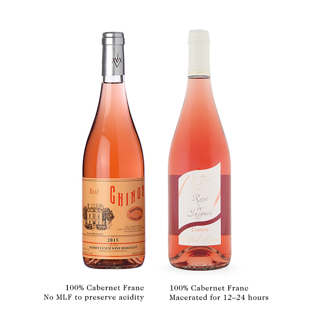 Saignee Rose of Cabernet Franc from Chinon in Loire Valley Wine Folly