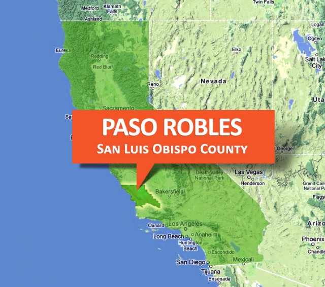 paso robles wine country in san luis obispo county