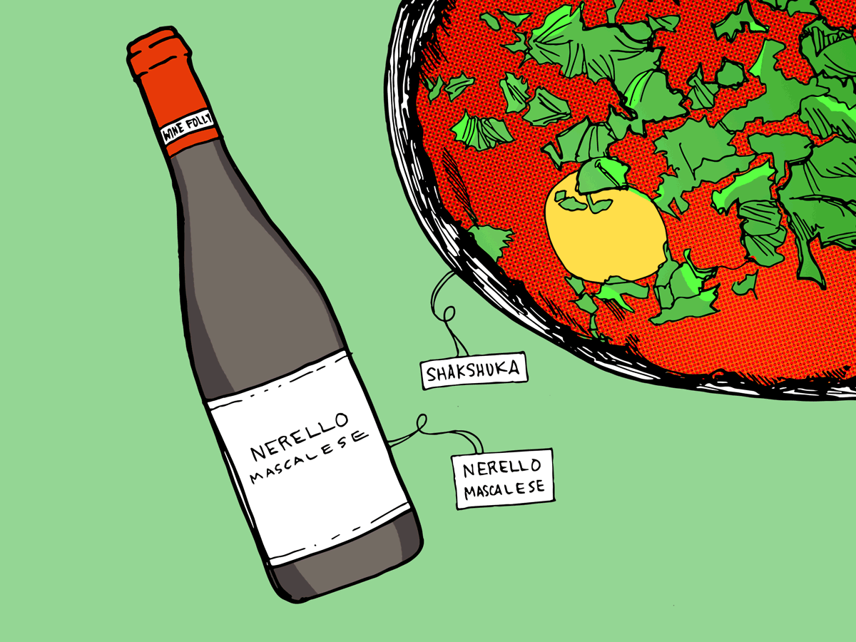 shakshuka-nerello-mascalese-wine-folly-illustration