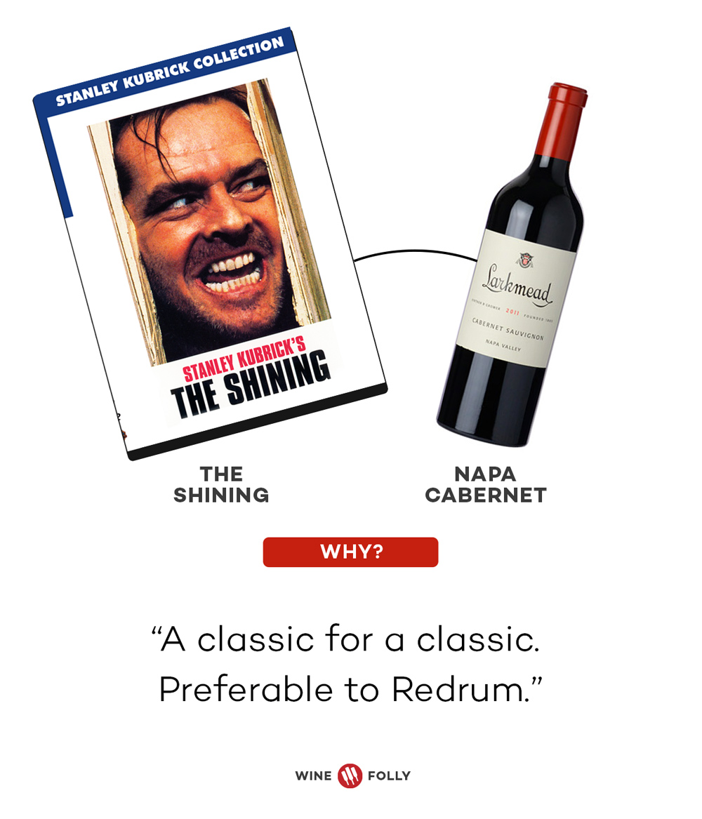 The Shining Napa Valley Cabernet Horror Movie Wine Pairings