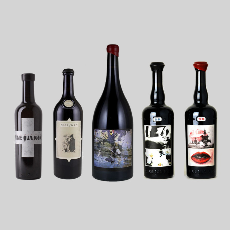 sine-qua-non-wine-santa-barbara-bottle-labels