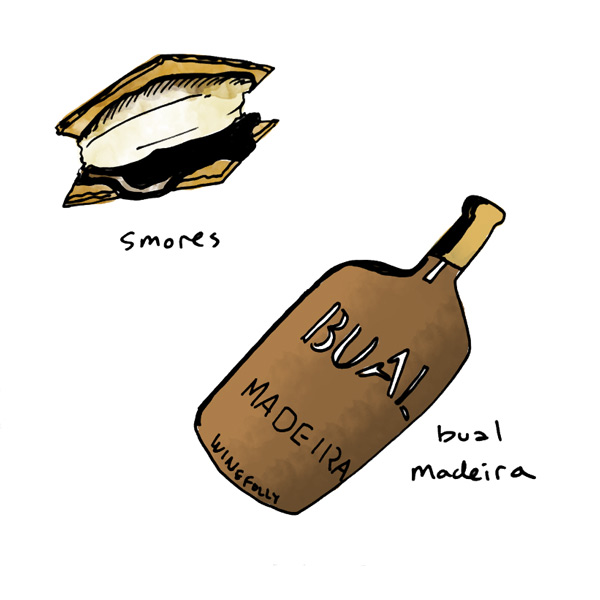 smores-pairing-with-bual-aged-madeira-wine