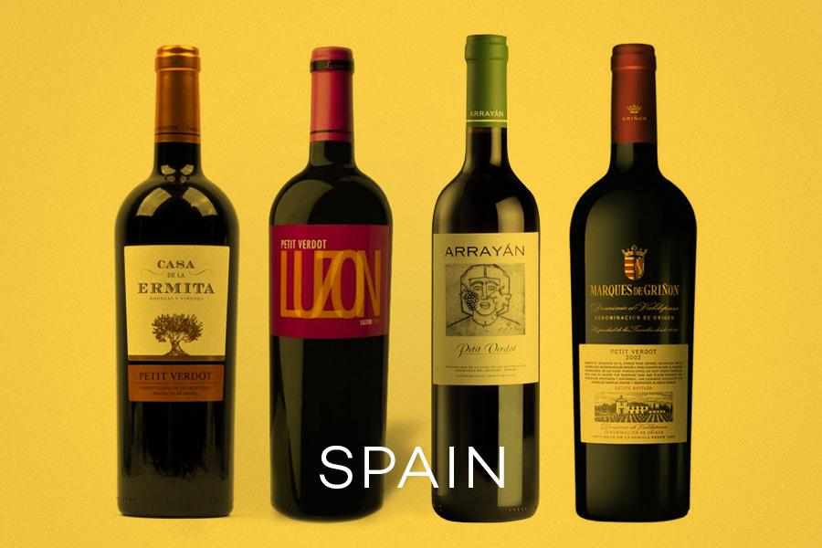 Spain Petit Verdot Wine Taste examples