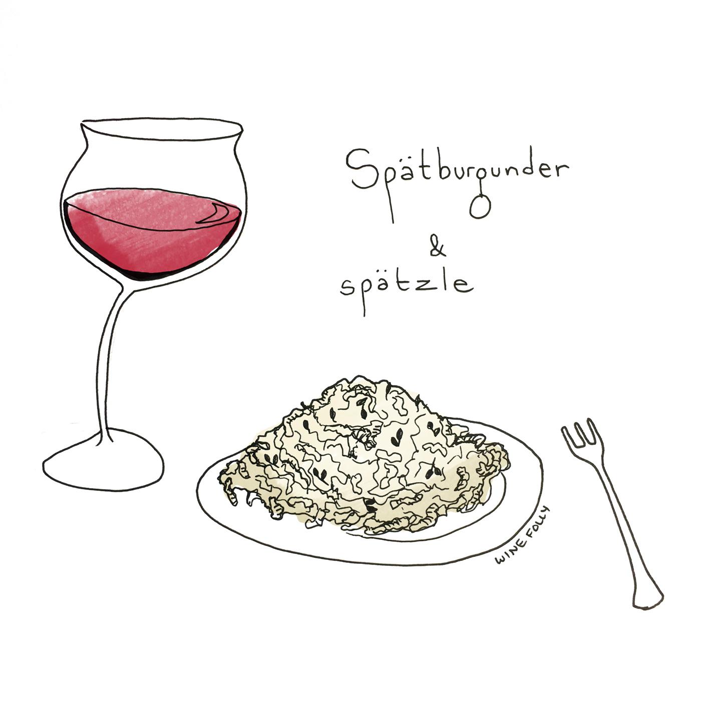 Spatburgunder (aka Pinot Noir) German Wine Pairing