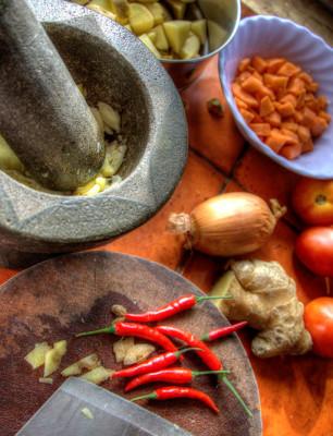 Spice Focused Dinner Party Ideas
