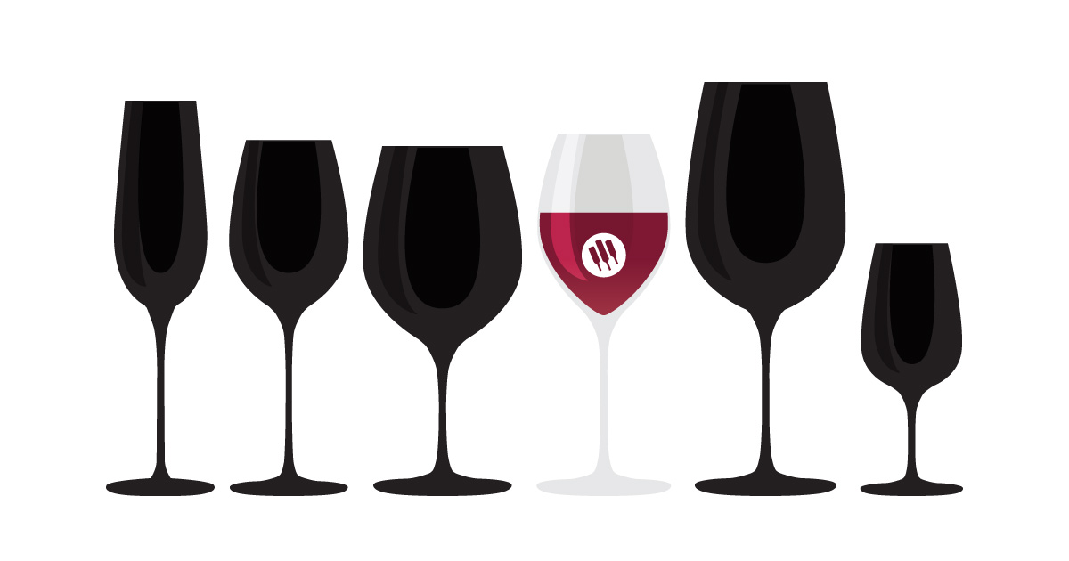 Universal - Standard wine glass illustration by Wine Folly
