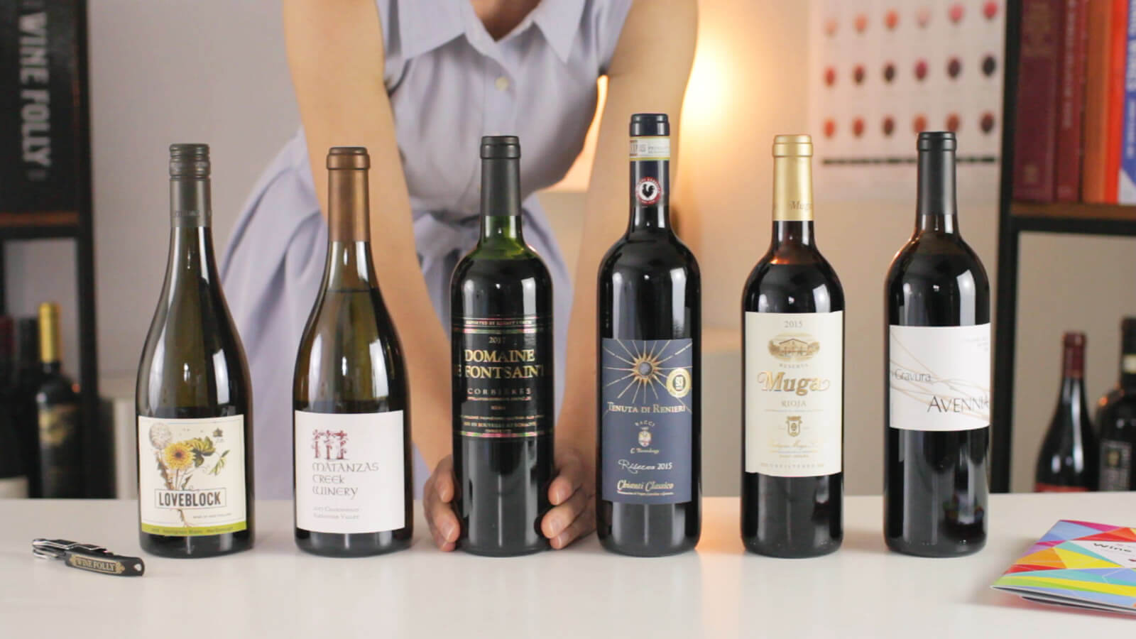 Wine Tasting Course - Wine Folly 2019 Bottles