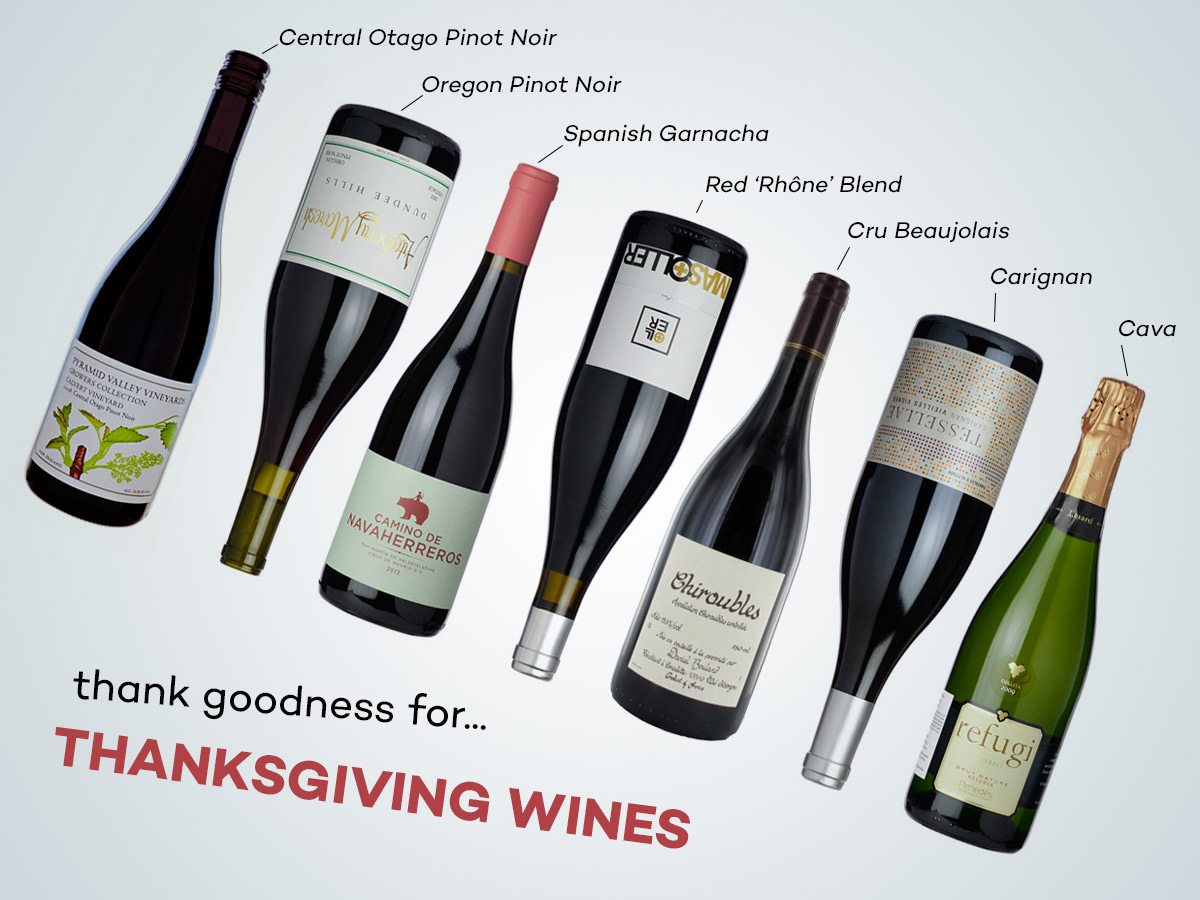 Thanksgiving wines for 2014
