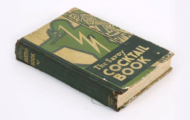 Original Edition Savoy Cocktail Book printed in 1930