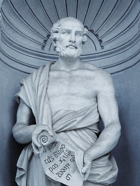 Theophrastus, a greek philosopher