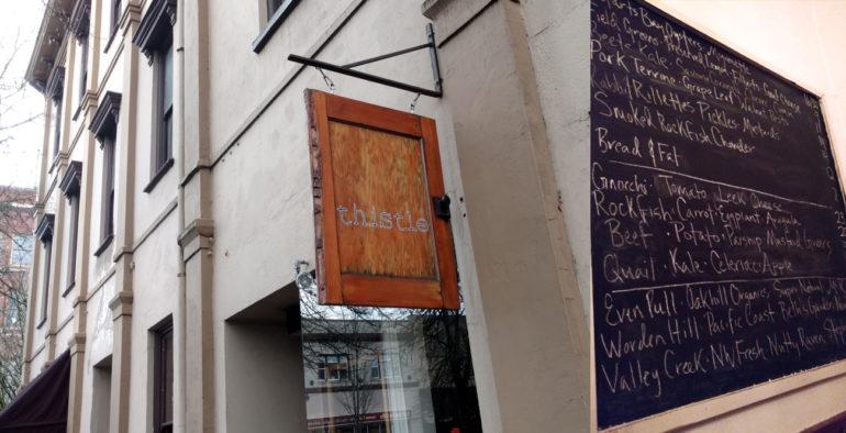 thistle-restaurant-oregon menu