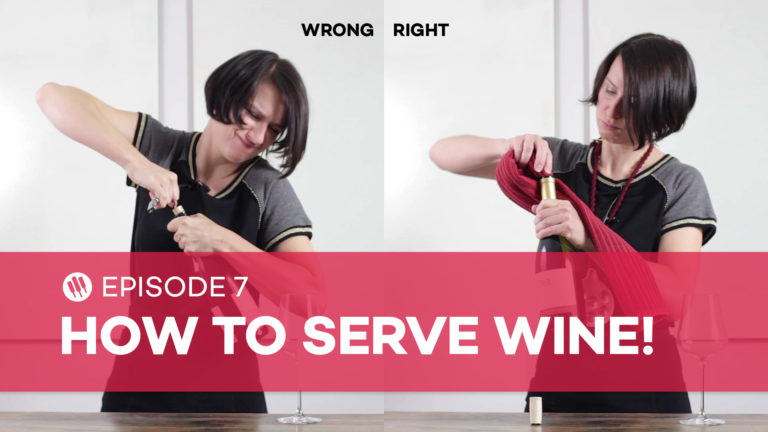 How to open, serve, decant and store wine with Madeline Puckette