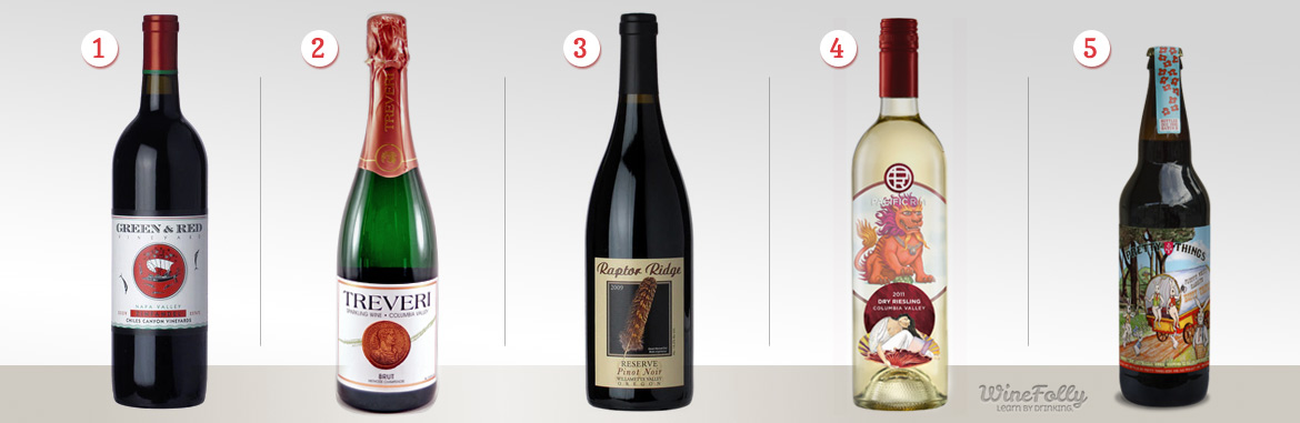 Top 5 Best Wine for Thanksgiving Dinner