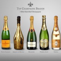 top champagne brands most searched