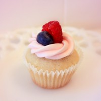 Triple Berry Chardonnay Cupcakes by Enjoy Cupcakes