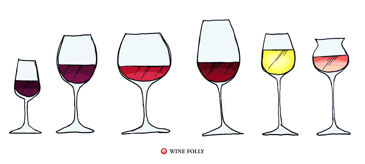 types-of-wine-glasses
