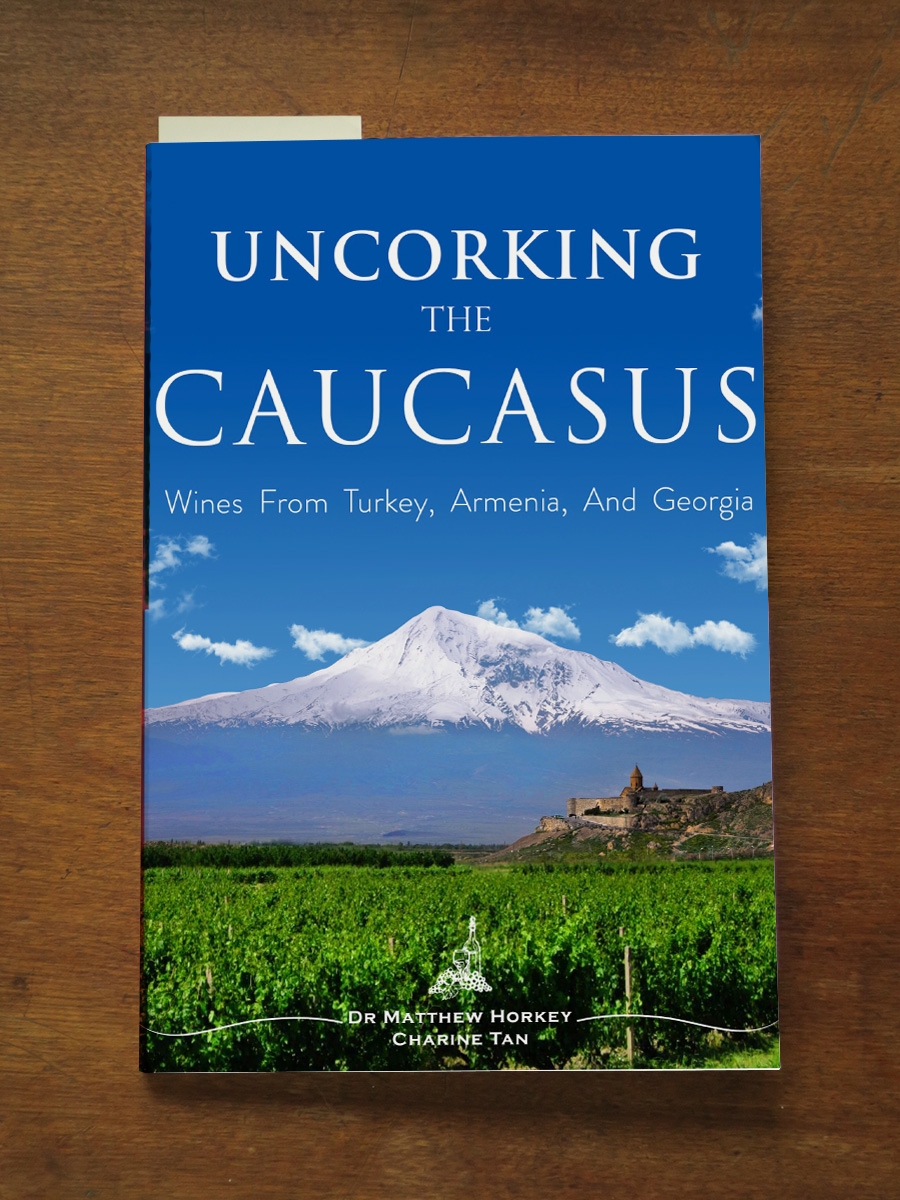 Uncorking Caucasus Book
