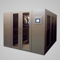 vinotemp stand alone wine vault, your wine will survive the fallout.
