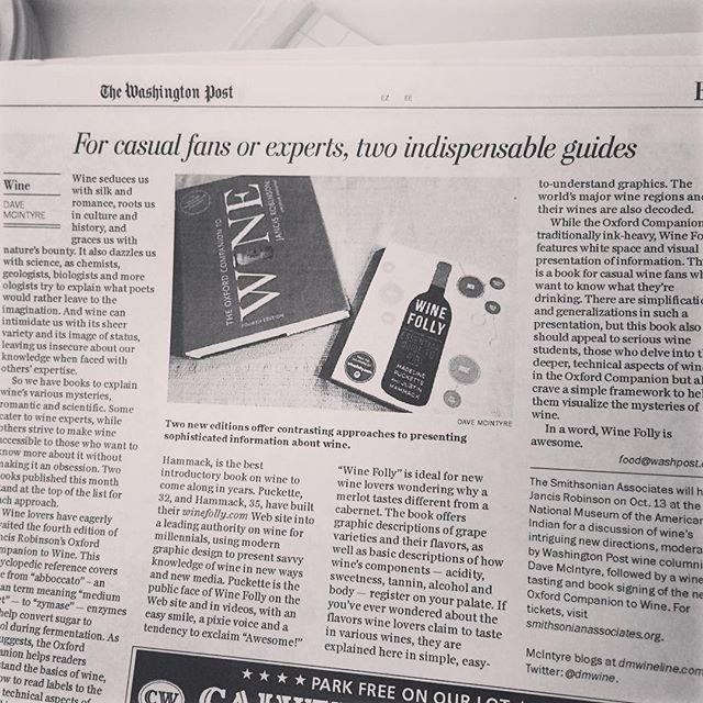 Wine Folly in the Washington Post